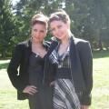 На Свадьбе! Ксения и Я(справа)