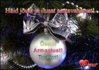 Häid jõule ja ilusat aastavahetust!